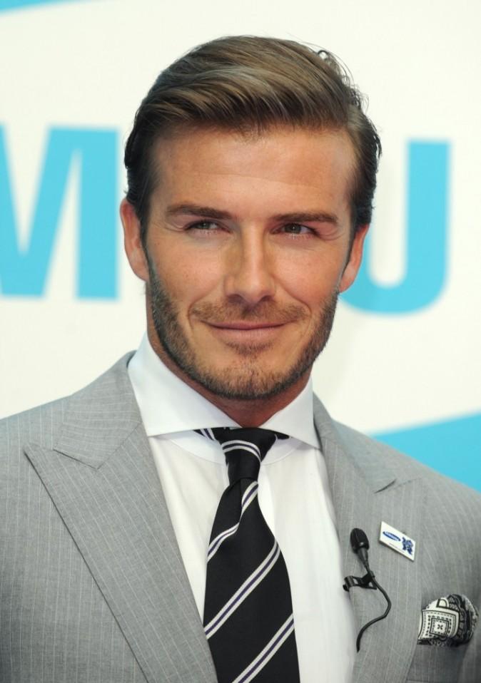 David Beckham, toujours impeccable lorsqu'il fait une apparition !