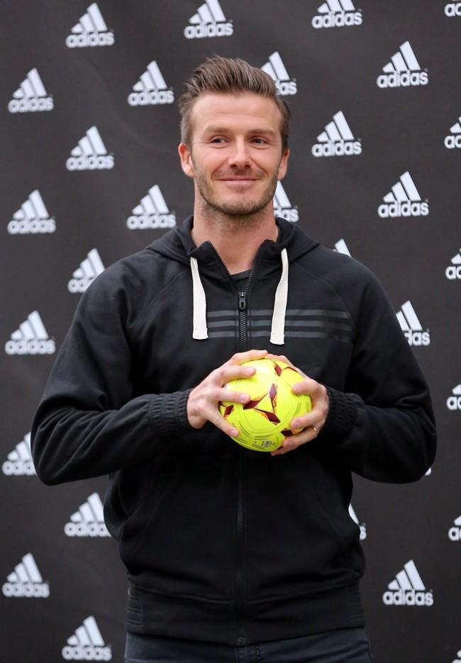 David Beckham, Paris, 28 février 2013.