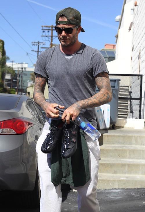 Photos : David Beckham : son fils Brooklyn est prêt à prendre la relève !