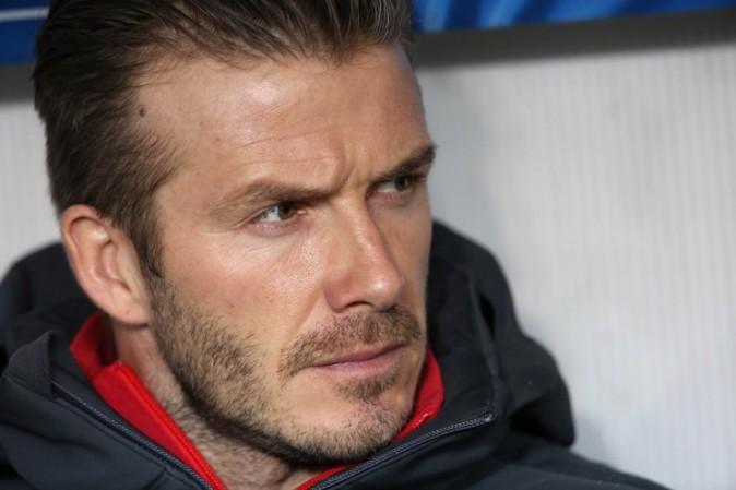 David Beckham au Parc des Princes de Paris le 6 mars 2013