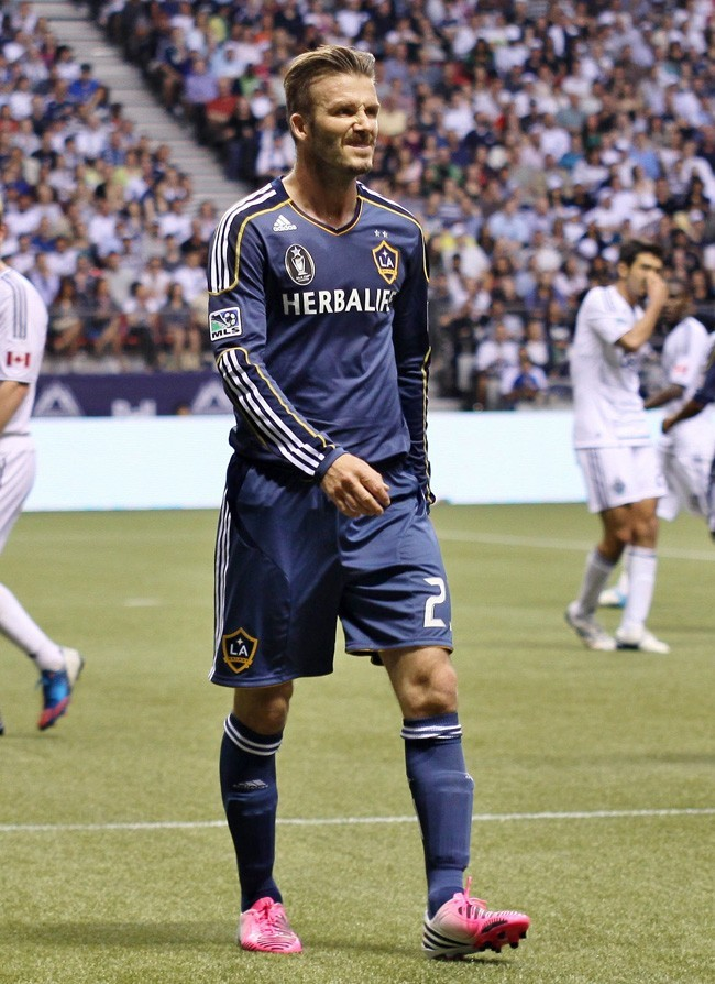 David Beckham le 19 juillet 2012 à Vancouver
