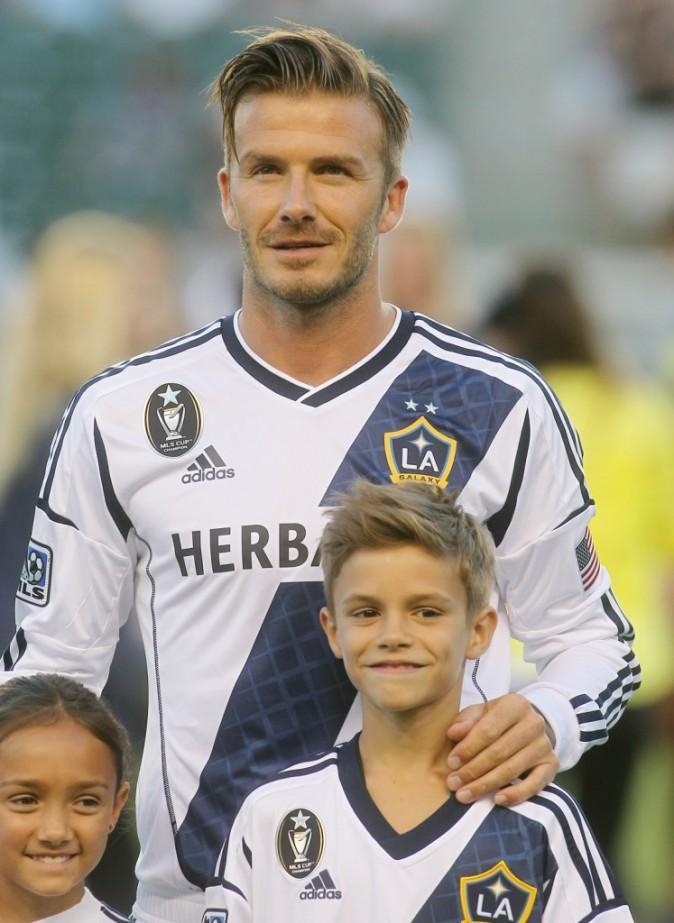 Photos : David Beckham : un père aimant qui a voulu faire plaisir à son fils Roméo pour ses 10 ans !