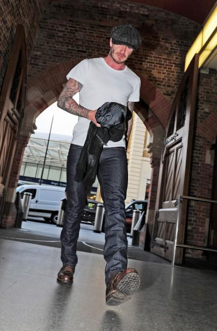 David Beckham à Londres