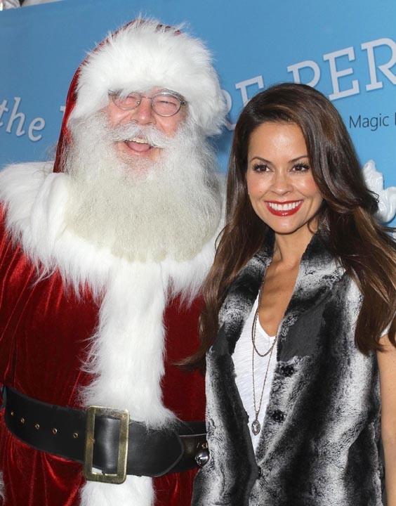 Le Père Noël n'est pas en retard à Los Angeles !