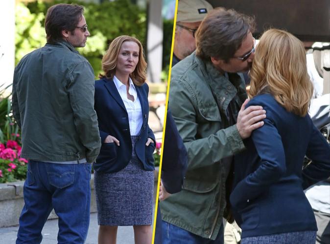 David Duchovny et Gillian Anderson (X-Files) : tendres retrouvailles sur le tournage de la nouvelle saison !