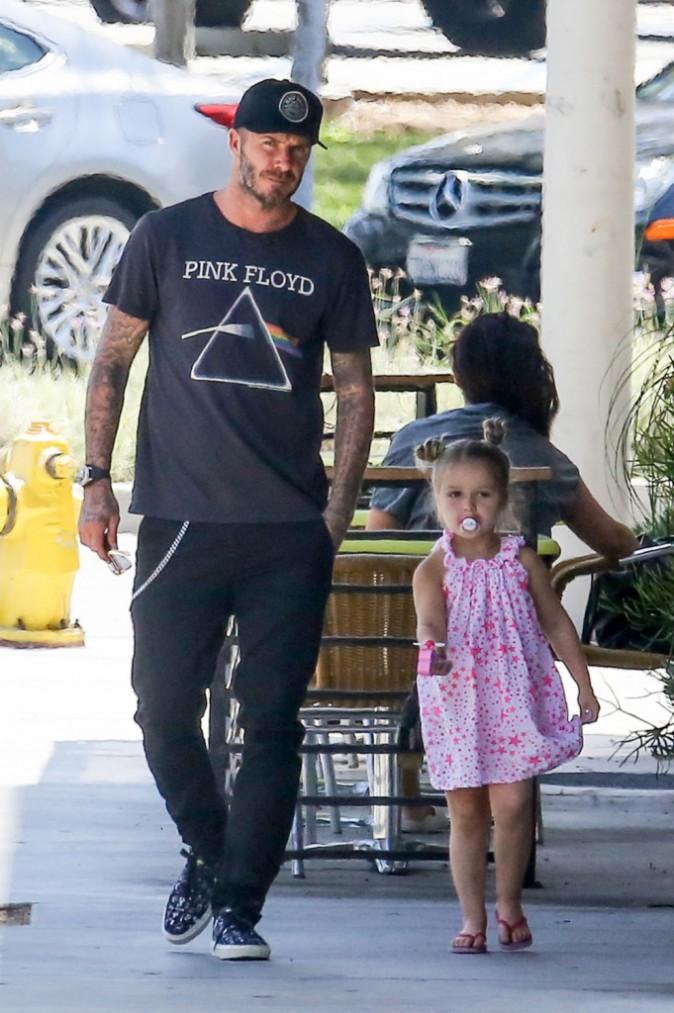 David et Brooklyn Beckham : Entre le père et le fils, on se demande qui est le plus mature !