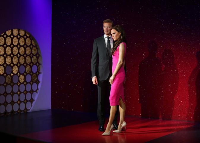 Photos : David et Victoria Beckham : découvrez leurs statues de cire plus vraies que nature !