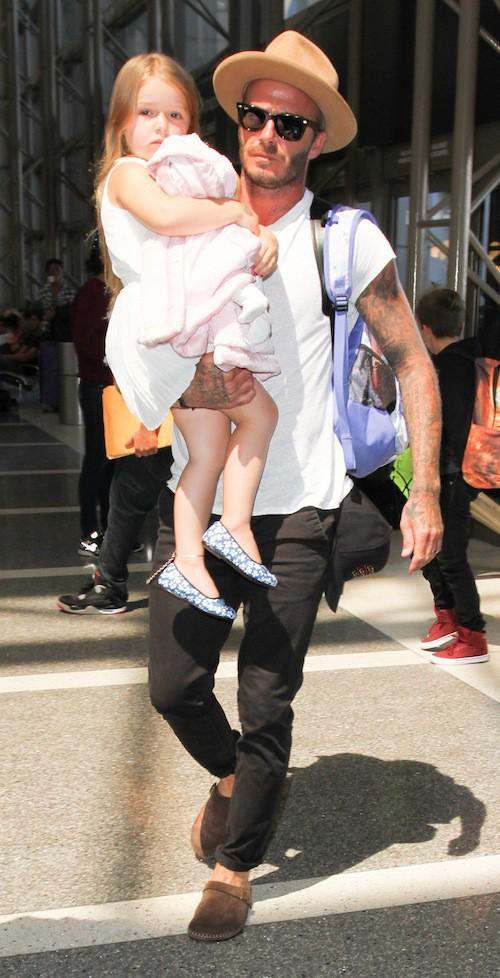 Photos : David et Victoria Beckham, la famille d'abord !