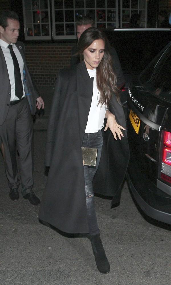 Victoria Beckham à Londres le 20 novembre 2014