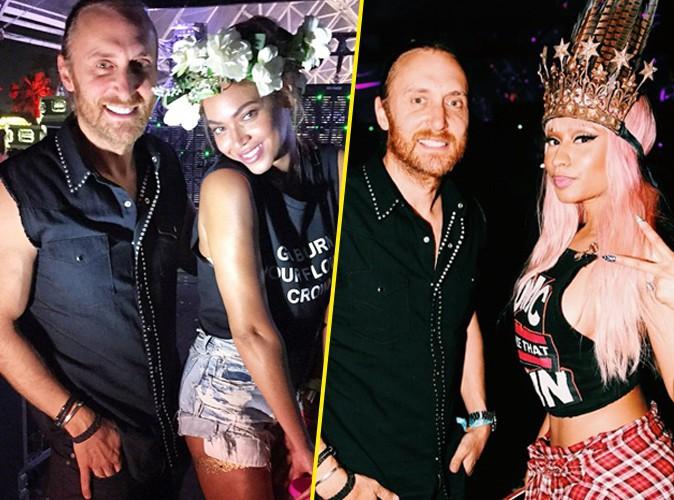 Photos : David Guetta peut compter sur Beyoncé et Nicki Minaj !
