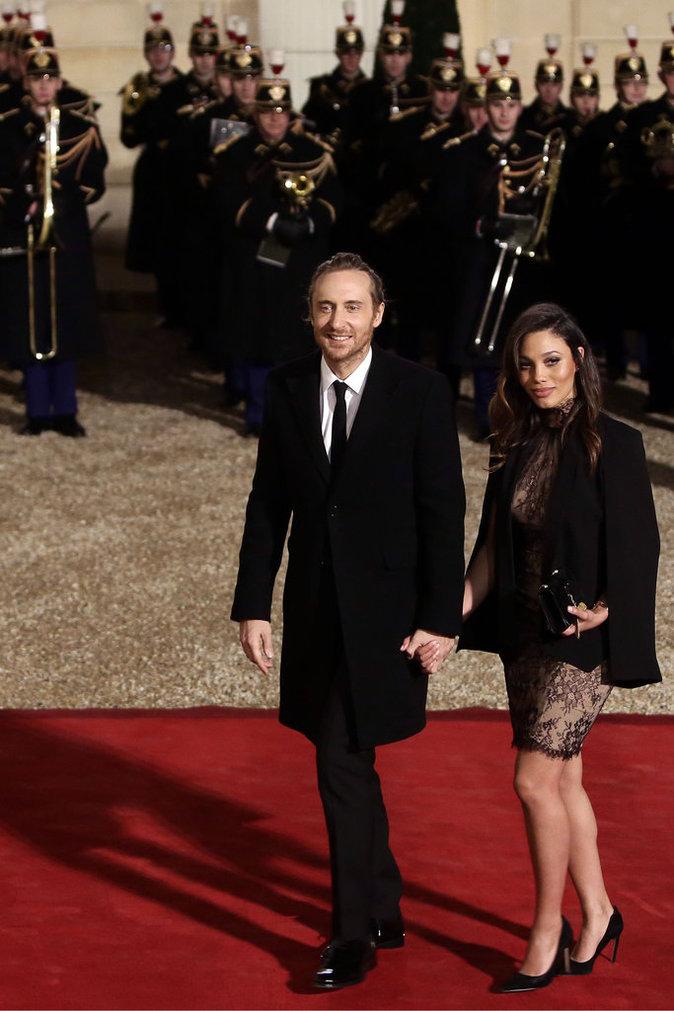 David Guetta et Jessica Ledon