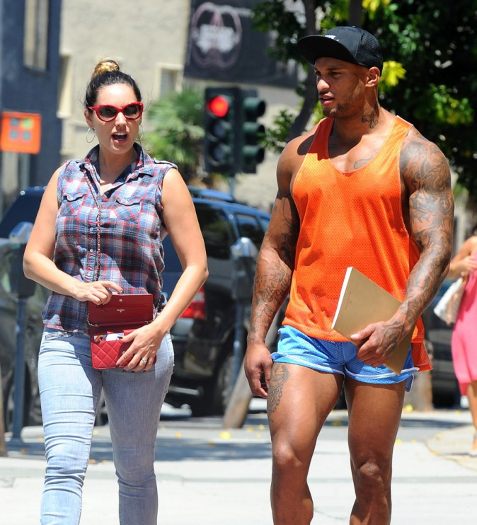 Photos : David McIntosh : démonstration de sex-appeal musclée pour le fiancé de Kelly Brook !
