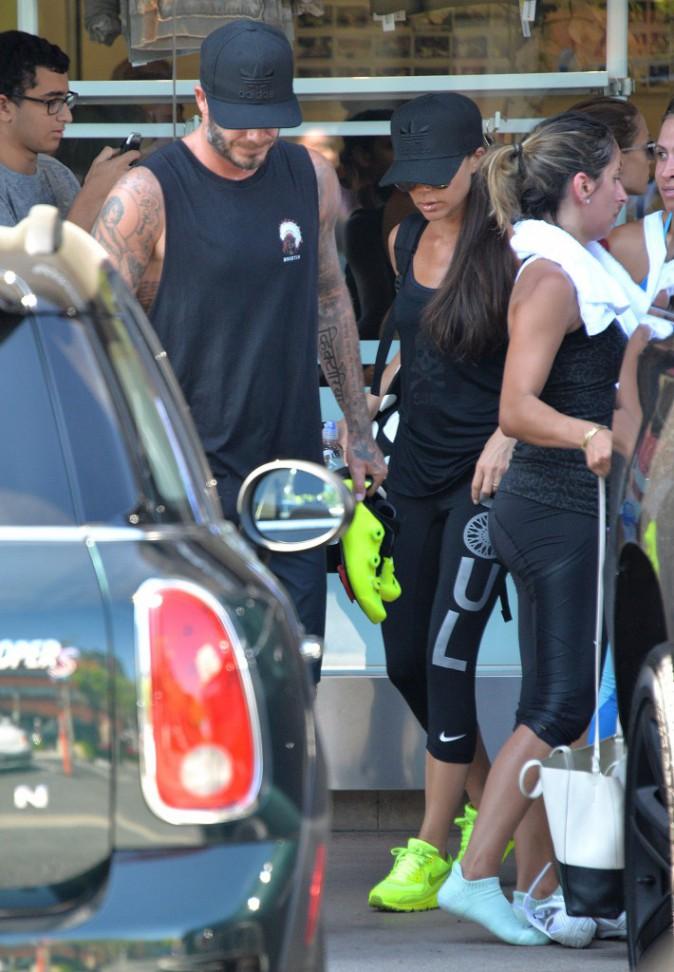 David, Victoria et Brooklyn Beckham : Le sport c'est une affaire de famille !