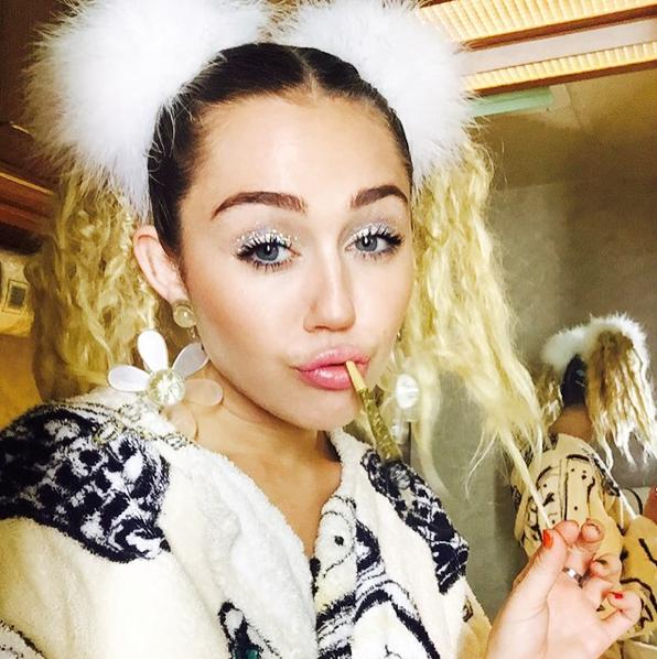 Miley Cyrus le 18 août 2015