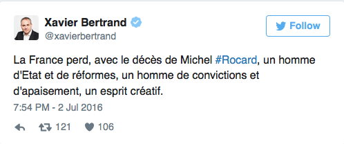 Photos : Décès de Michel Rocard : la politique française est en deuil
