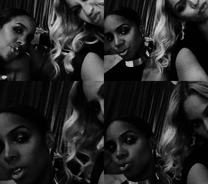 Beyoncé et Kelly Rowland à Las Vegas