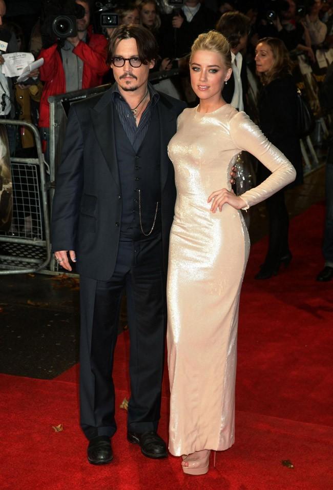 ...qui ne laissent pas Johnny Depp indifférent dans le film !