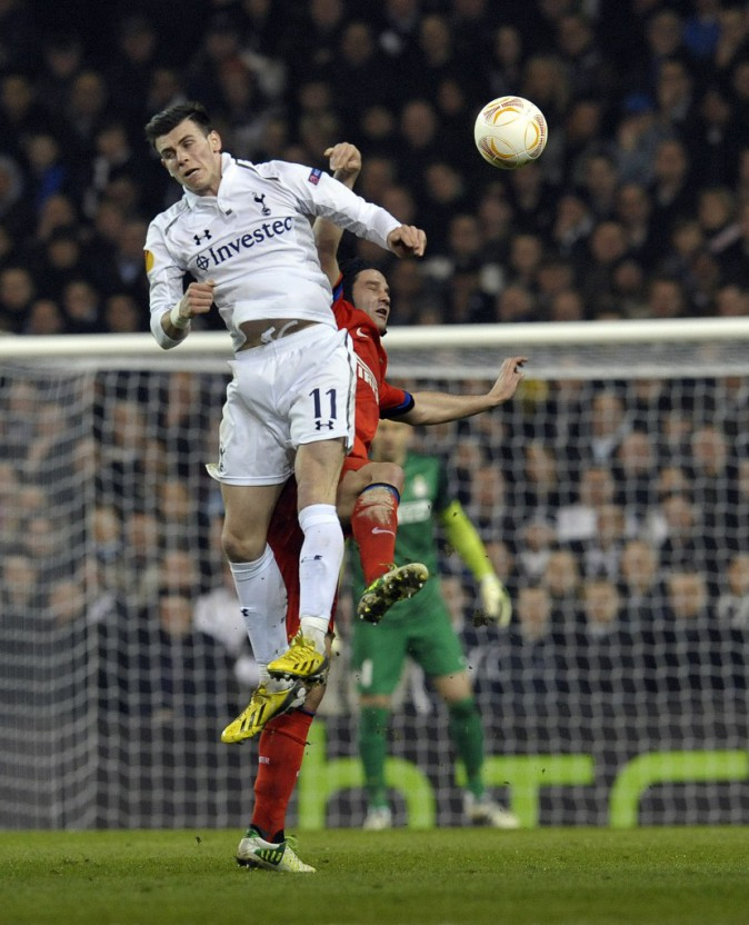 Gareth Bale, superbe triplé contre l'Inter Milan