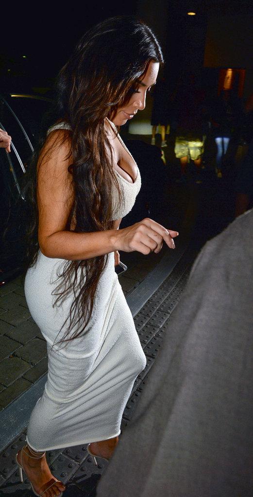 Kim Kardashian à Miami le 19 septembre 2016