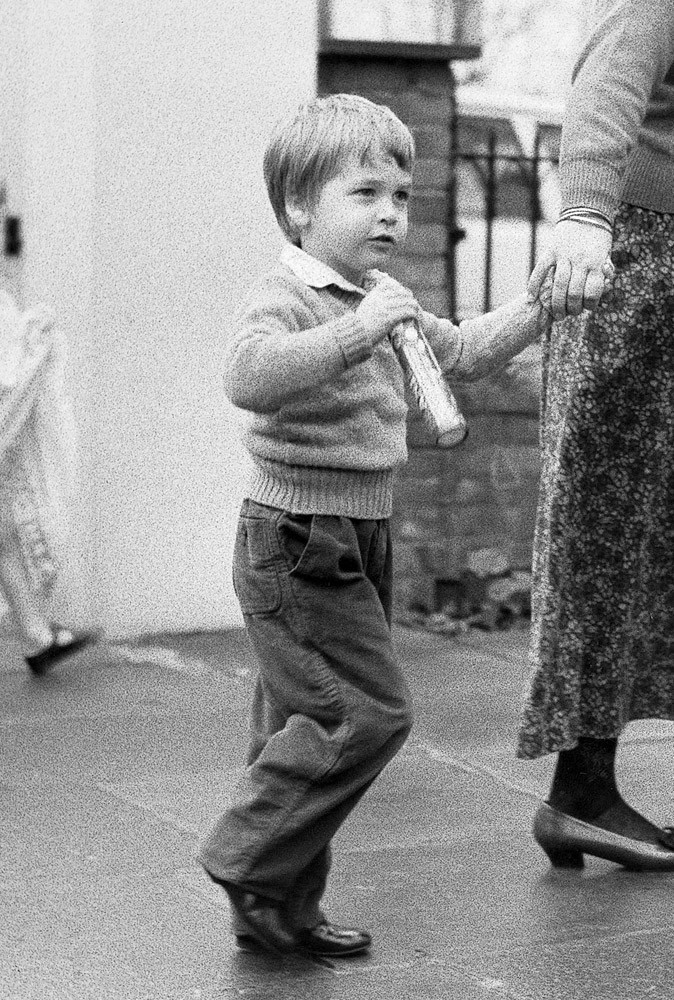 Photos : le Prince William à 3 ans