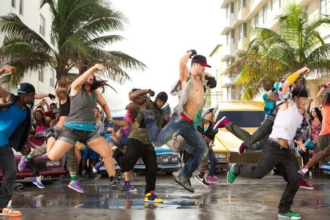 Les danseurs donnent tout !