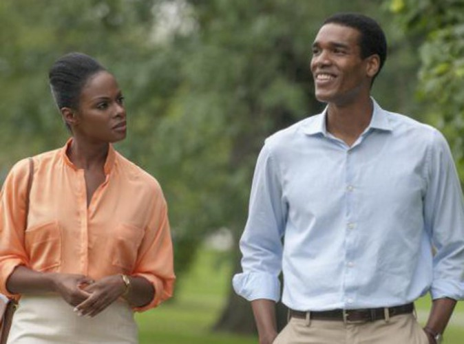 Tika Sumpter et Patrick Sawyers dans les rôles de Michelle et Barack Obama