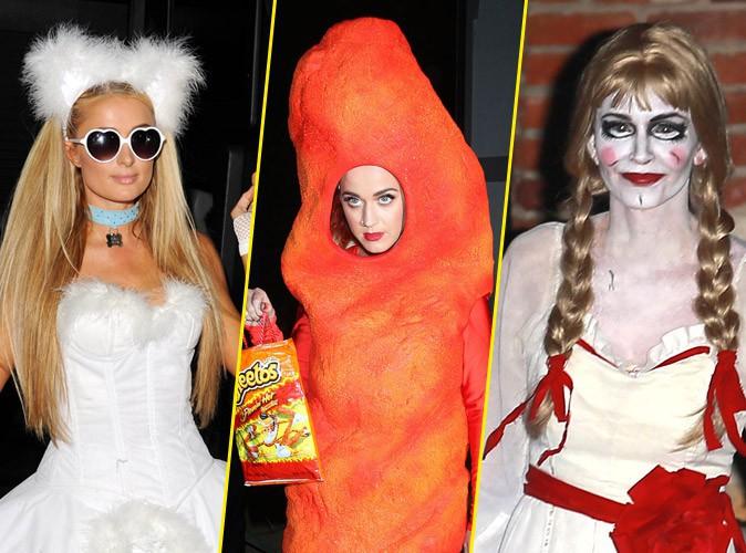 Paris Hilton, Katy Perry, Courteney Cox, Gwen Stefani... 100% Halloween chez les stars !