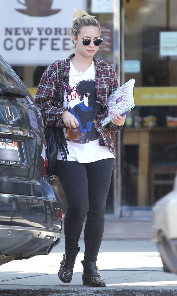 Demi Lovato le 12 septembre 2012 à Los Angeles