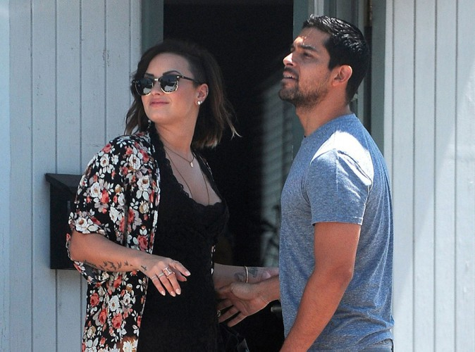 Demi Lovato et Wilmer Valderrama à Los Angeles le 23 août 2014