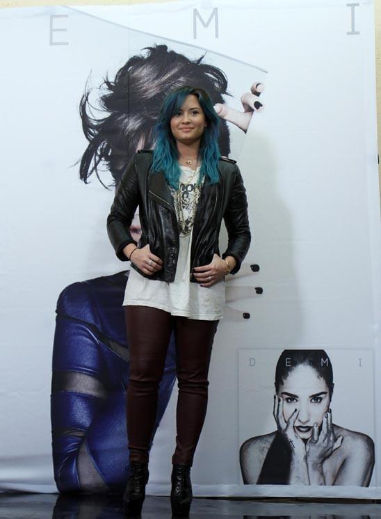 Demi Lovato à Mexico le 10 octobre 2013