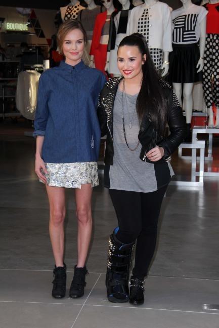 Demi Lovato et kate Bosworth le 14 février 2013 à Los Angeles