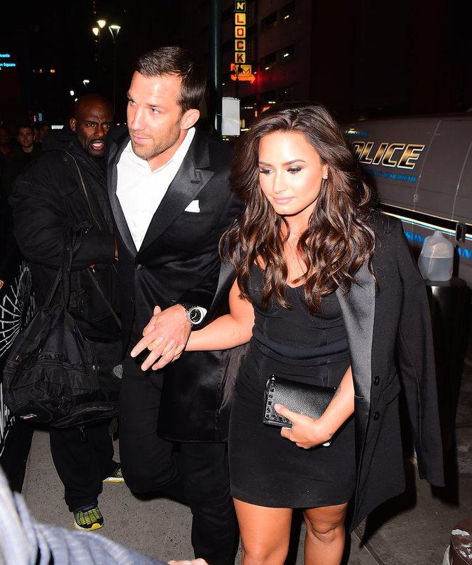 Demi Lovato : première apparition officielle avec son boyfriend !