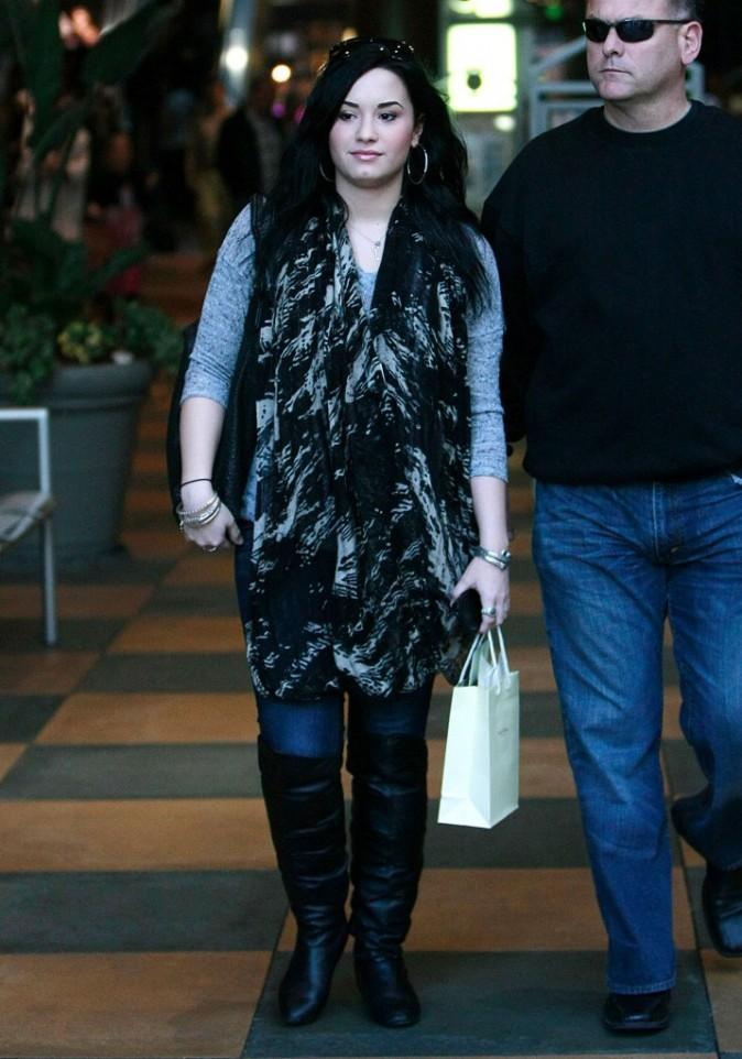 Demi s'autorise une première virée shopping