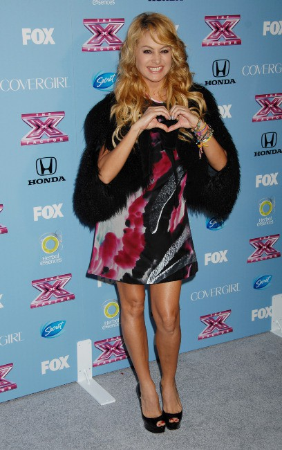 """Paulina Rubio lors d'un événement """"X Factor"""" à Los Angeles, le 4 novembre 2013."""