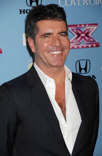 """Simon Cowell lors d'un événement """"X Factor"""" à Los Angeles, le 4 novembre 2013."""