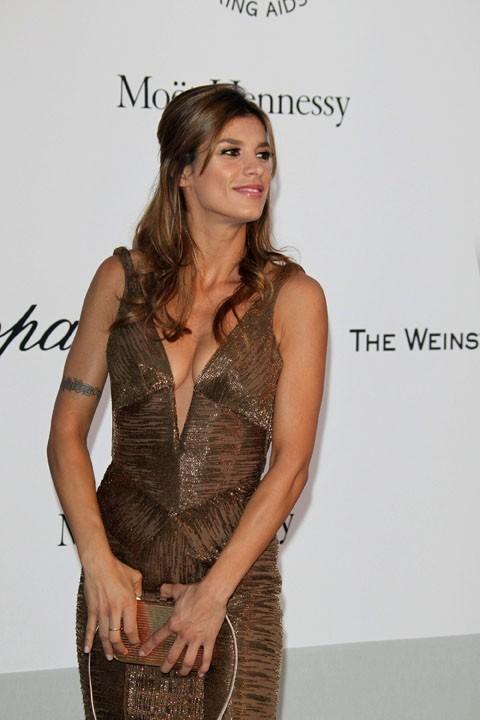 Elisabetta Canalis juste avant sa séparation avec George Clooney