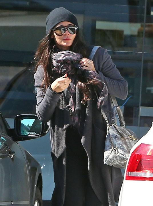 Demi Moore à la sortie d'un centre de nutrition de West Hollywood le 11 février 2013