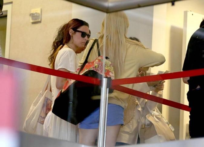 Rumer Willis à l'aéroport de Los Angeles le 24 juin 2013