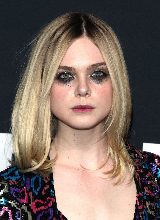 Elle Fanning et son Make up