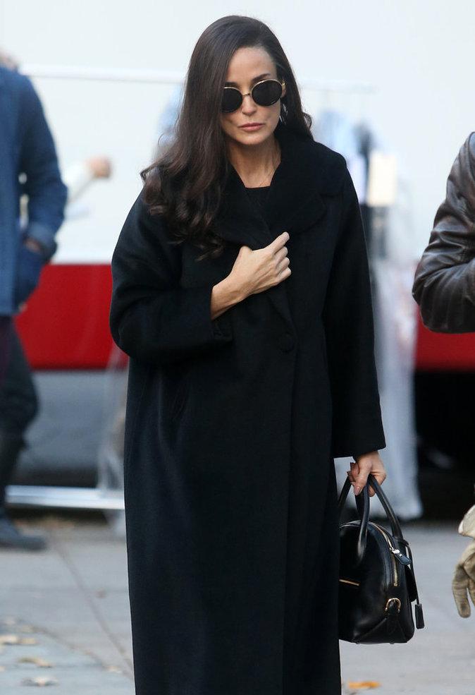 Photos : Demi Moore : Méconnaissable lors d'un tournage