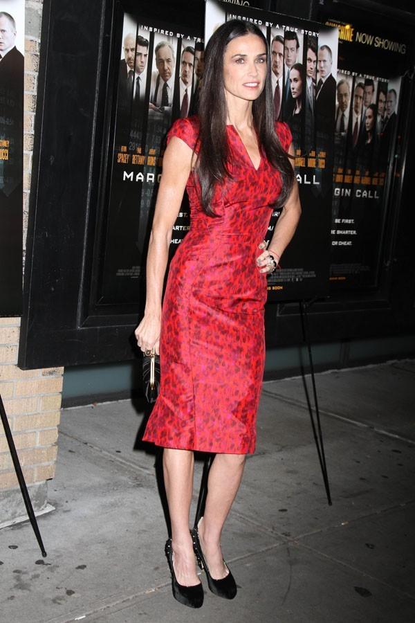 Demi Moore hier à New-York !