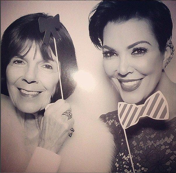 Kris Jenner et sa maman