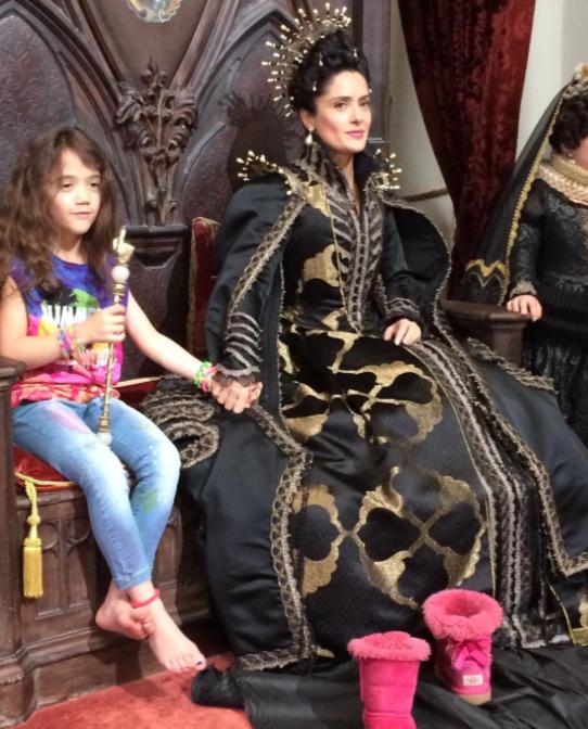Salma Hayek et sa fille