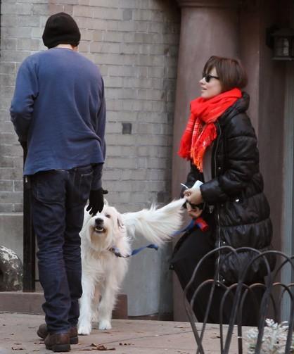 Olivia Wilde, super fière de son chien !