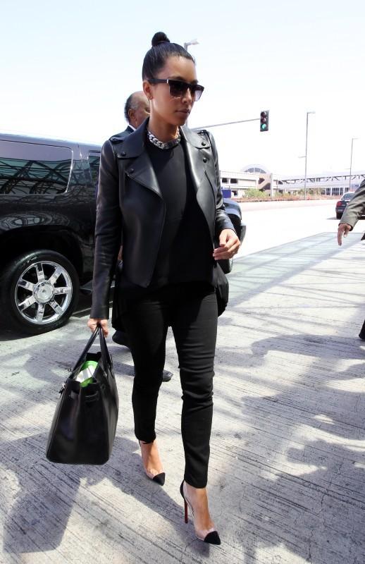 Kim, toujours glamour