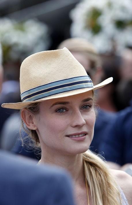 Diane Krüger à Roland-Garros le 31 mai 2012 !
