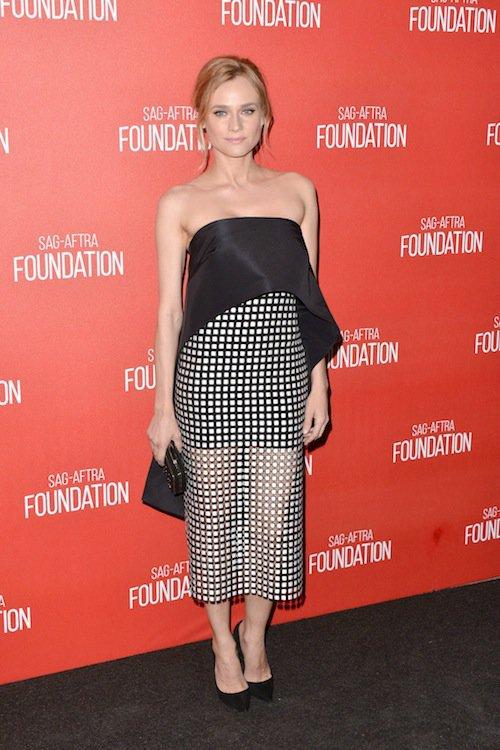 Diane Kruger aux SAG Awards 2015, à Los Angeles, le 5 novembre