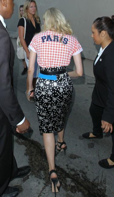 Diane Kruger se rendant sur le plateau du Jimmy Kimmel Live à Hollywood, le 9 juillet 2013.