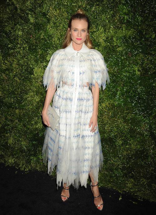 Photos : Diane Kruger : en solo pour un red carpet angélique !