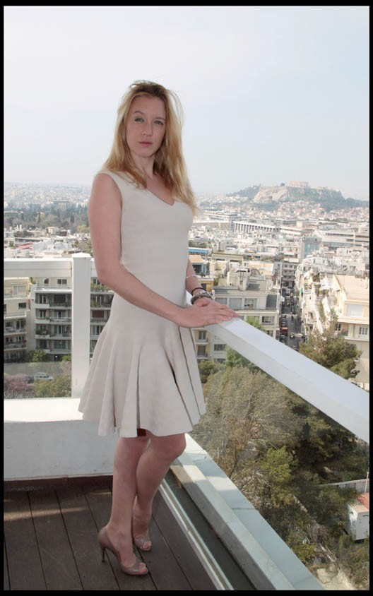 Ludivine Sagnier lors du 12e Festival du Film Francophone à Athènes, le 5 avril 2011.